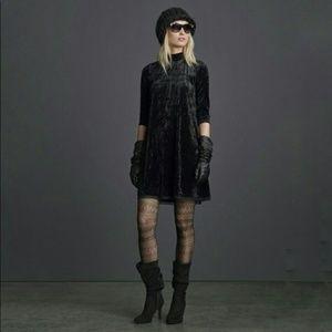 Simply Vera Vera Wang Velvet Velour Shift Dress